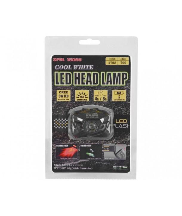 Spro LED Kopflampe SPHL150RU