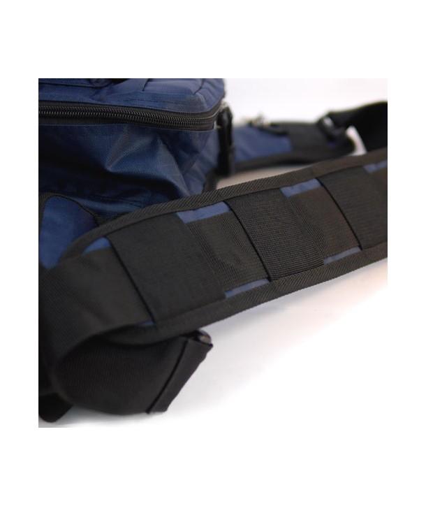 Geecrack Shoulder Bag, Schwarz
