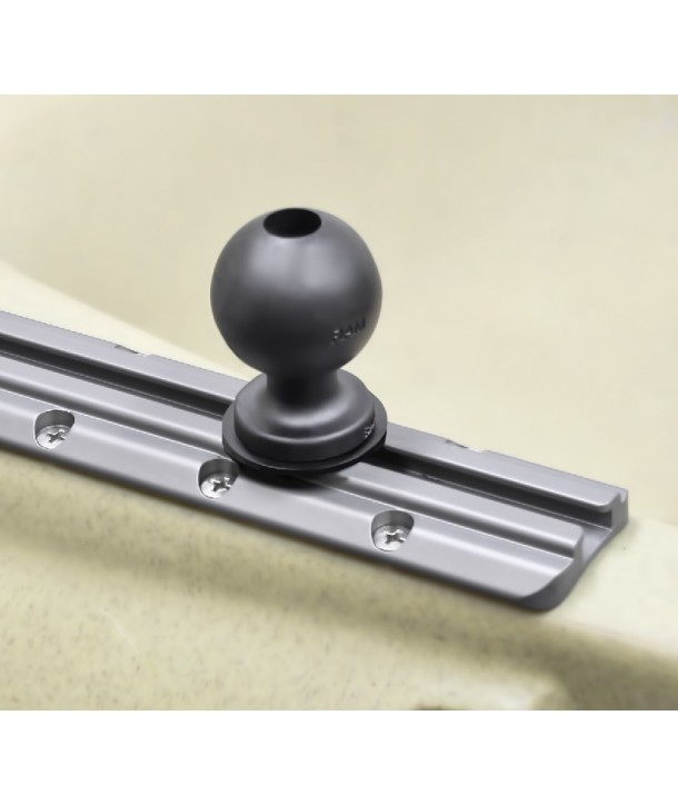 "Ram-Mounts RAM 1,5"" Ball Track Adapter with T-Bolt Attachment (RAP-354U-TRA1)"