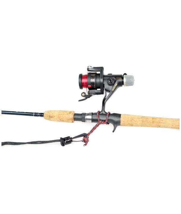 YAK-GEAR Paddle & Fishing Pole Leash Paddel-Rutensicherung