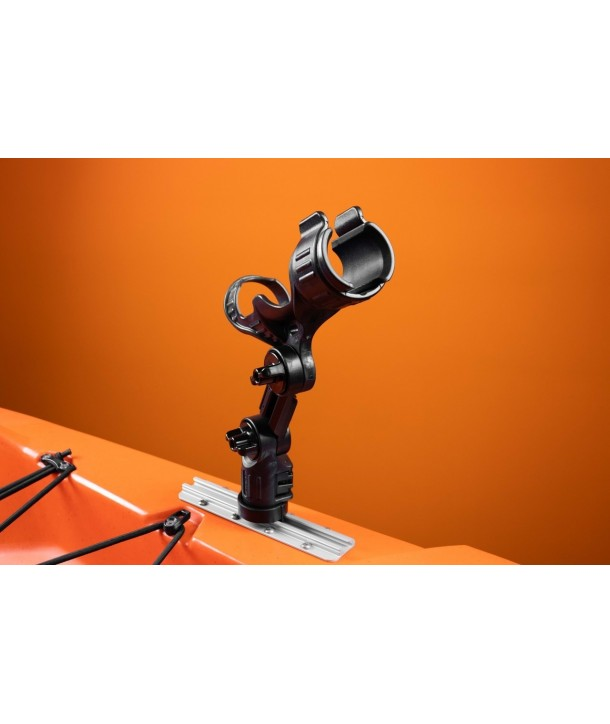 Yak-Attack Omega Pro™ Rod Holder with Track Mounted LockNLoad™ Mounting System