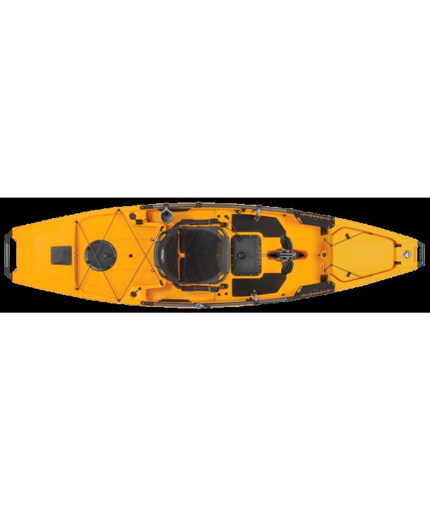 "Hobie Mirage Pro Angler 12"" mit KickUp-Fins Modell 2020 Fb.: Ivory Dune"