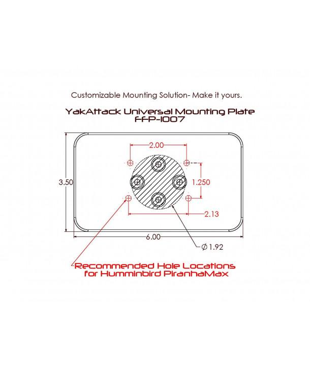 Yak-Attack Universal Mounting Plate (FFP-1007)