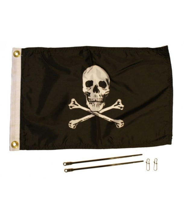 Yak-Attack Piraten-Flagge