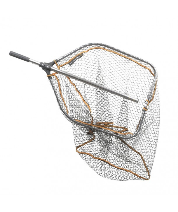 Savage Gear Pro Folding Rubber Mesh Landing Nets XL / Kescher