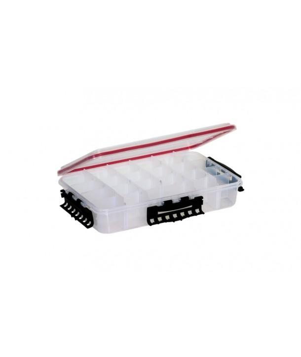 Plano 3740-10 Waterproof Stowaway Tacklebox Large, Red